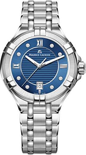 Maurice Lacroix Reloj de Quartz plata