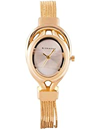 Giordano Analog Silver Dial Women's Watch - C2050-33