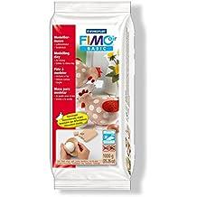 Staedtler FIMO AIR BASIC, pasta de modelar carne de secado al aire, tipo arcilla. Pastilla de 1.000 g. 8101-43