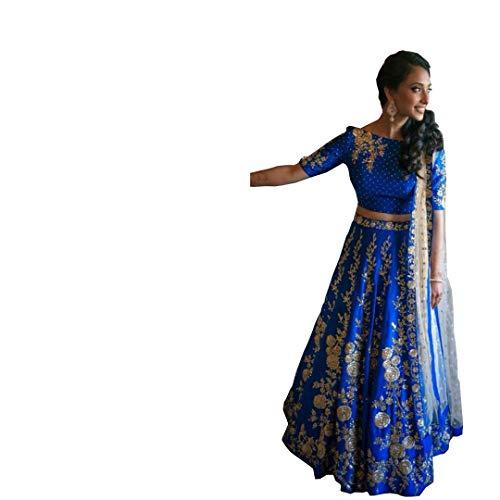 DREAMEXPORTER Designer Hochzeit Brautschmuck lehenga choli Traumexporter 1116 Designer Bollywood Saris