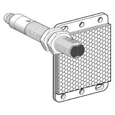 Detector proximidad plana//o posterior 0,1m 24-240v 2h.sombra Telemecanique psn det 45 17