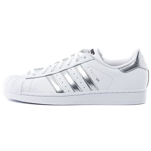 adidas Superstar, Sneakers Basses Femme weiss
