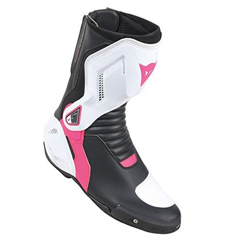 Dainese-NEXUS LADY Stivali da moto , Nero/Bianco/Fuxia, Taglia 38