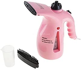 2-in-1 Handheld Mini Electric Steamer Facial Steaming Ironing Humidification