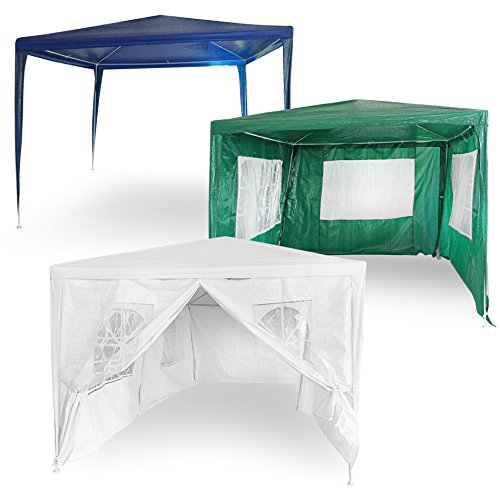 ESTEXO Garten Pavillon, Festzelt, Partyzelt, Gartenzelt, Zelt, Festivalpavillon (300x300x240 cm Ohne...