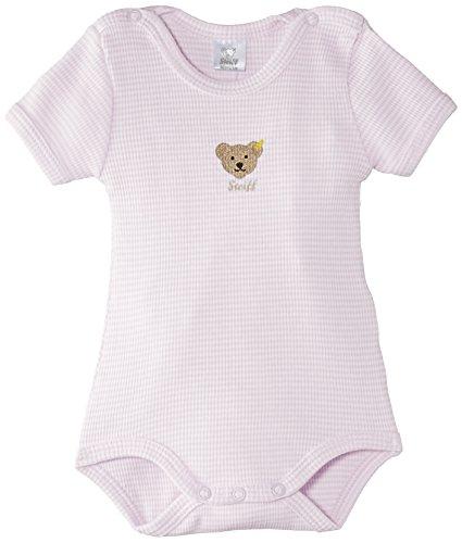 Steiff Unisex - Baby Body 0008643, Gr. 62, Rosa (barely pink 2560)