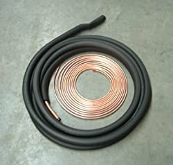 Insulated Line Set for Central Heating and Air Conditioner Systems