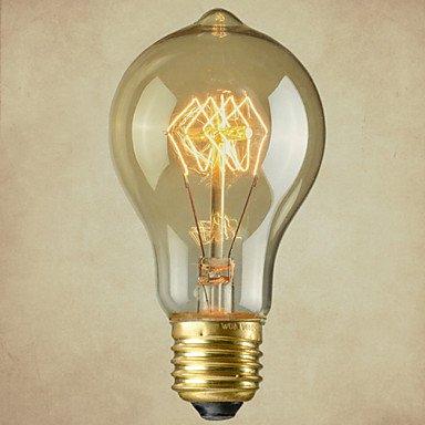 HZZymj-reine Kupferlampensockel retro vintage e27 künstlerischen Glühlampe industrielle Glühbirne 40w , 220-240v -