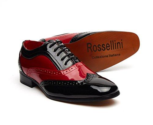rossellini-zapatos-de-cordones-para-hombre-color-multicolor-talla-44