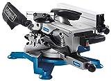Scheppach 5901103901 Kombinations Tisch-Kapp-Gehrungssäge, Zwei Sägen in Einem Gerät vereint, vielseitige Einsatzmöglichkeiten, kompakt, robust und leicht, 1800 W Motor, 230 V