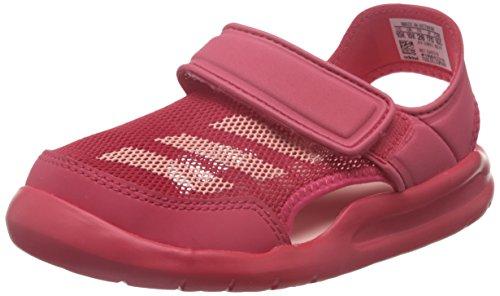adidas Performance BA9373/BA9378 Forta Swim C Mädchen Baby Badeschuh Mesh Klett, Groesse 28, pink