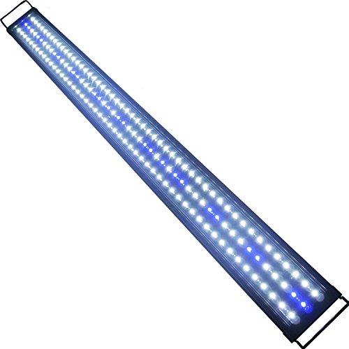 ETiME LED Aufsetzleuchte IP67 Aquarium Aquariumlampe Beleuchtung für 120-140cm Aquarium (120-140cm)