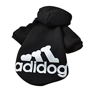 Chiots Hundepullover Chihuahua Habillement Taille M Adidog Noir