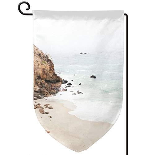 Kalifornien Post (Lilyo-ltd Malibu Kalifornien-Strandflagge, 31,8 x 45,7 cm, doppelseitig, Polyester)
