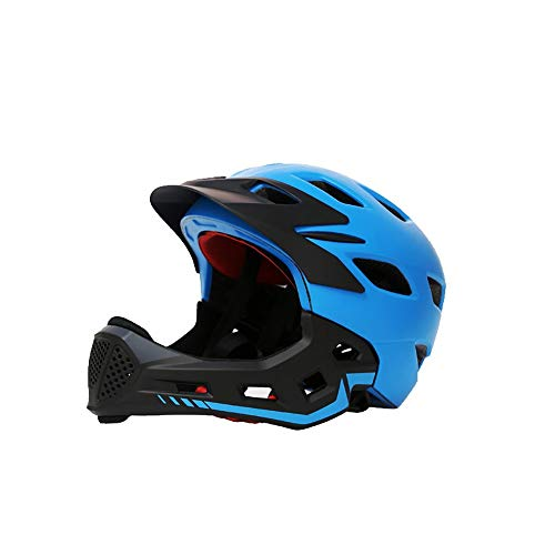 SDKUing Fahrradhelm Integralhelm Fahrrad Downhill HelmKinderhelm Herren Damen Kinder-Helm Inliner skaterhelm BMX fahradhelm