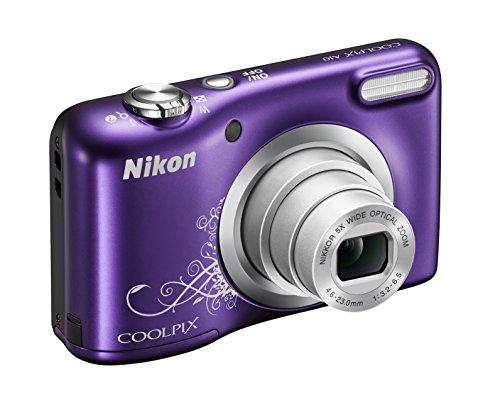 "Nikon Coolpix A10 Fotocamera Digitale Compatta, 16 Megapixel, Zoom 5X, LCD 2,8"", HD, Porpora [Nital card: 4 anni di garanzia]"