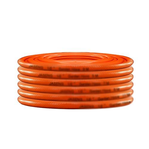 en Camping Caravan Propan Butan Calor Pipe Hochdruck 8mm, Orange ()