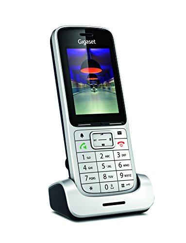 Gigaset SL450H - Schnurloses Erweiterungshandgerät - Bluetooth-Schnittstelle mit Rufnummernanzeige/Anklopffunktion - DECT\GAP - Silber