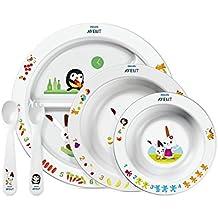 Philips Avent SCF716/00 Set para la Hora de Comer para Niños, 6 Meses +