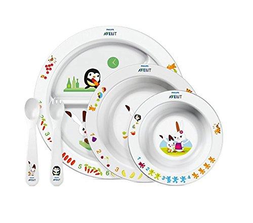 Philips Avent SCF716/00 Set para la Hora de Comer para Niños, 6...