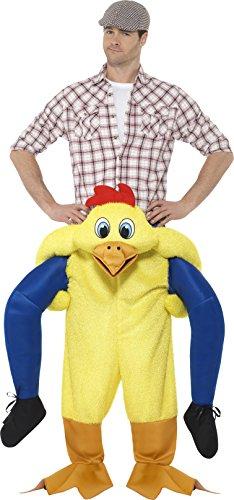 Imagen de smiffy 's–disfraz de 48812piggyback pollo, color amarillo, talla única