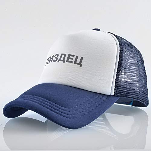 Preisvergleich Produktbild sdssup Brief Baseball Cap Männer und Frauen Mesh Cap Blau M (56-58cm)