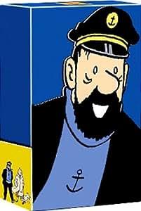Les Aventures de Tintin : Capitaine Haddock - Coffret 6 DVD : Le Crabe aux pinces d'or / Coke en stock / Le Secret de la Licorne / Le Trésor de Rackham le Rouge / Tintin au Tibet / Vol 714 pour Sidney