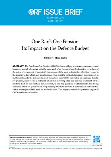 one-rank-one-pension-its-impact-on-the-defence-budget