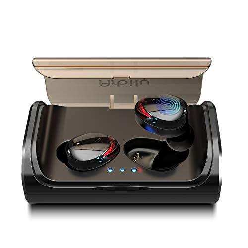 Arbily Bluetooth Kopfhörer Kabellos True Wireless IN Ear Earbuds mit Portable Ladebox 3000 mAh,135 Stunden Spielzeit IPX6 Wasserdicht Bluetooth 5.0 Ohrhörer Sport,Power Bank für Smartphone thumbnail