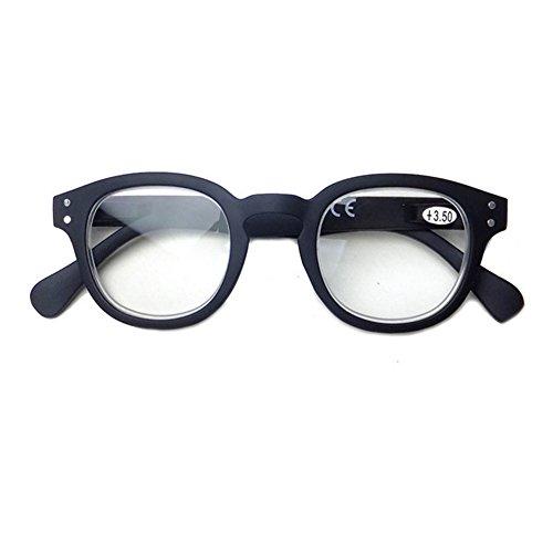 Haodasi Fashion retro men and women reading glasses +1.0 to +3.5