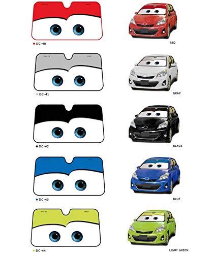 5 Colores Dibujos Animados Lindo Ojos Parabrisas Coche