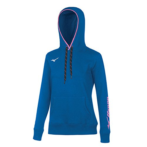 Mizuno Damen Sweatshirt Blu-Royal Large -