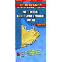 Carte routière : Vereinigte Arabische Emirate, Oman