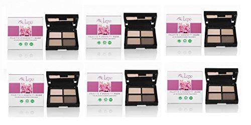 lepo-6-confezioni-di-palette-4-ombretti-nude-pe-creare-un-gioco-di-luci-e-ombre
