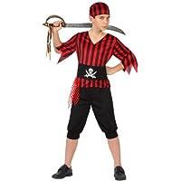 Atosa - Disfraz de pirata para niño, talla 10 - 12 años (23837)
