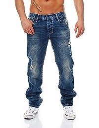 CIPO & BAXX - C-1125 - Regular Fit - dicke Naht - Men / Herren Jeans Hose