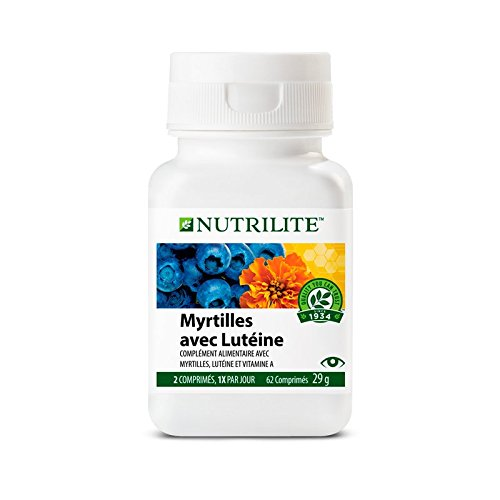 NUTRILITE™ - Heidelbeere mit Lutein (62 Kapseln / 43g)