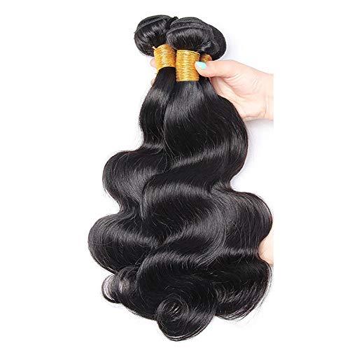 Pelo humano natural brasileño cabello virgen brasileño