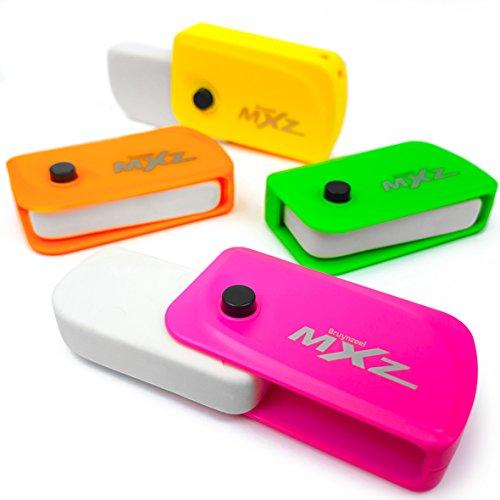 Bruynzeel mXz–KFZ Schlüssel Flick Radierer, verschiedene 4Stück