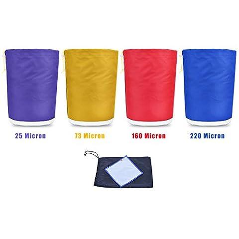 Aussparung zum Zurücklehnen ® Bubble Bag 1Liter 4Staubbeutel Ice Herbal