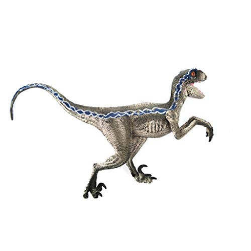 "Tianya Model Dinosaur Toy Blue Velociraptora Child Adult Collector to Offer Decorate for Party and Birthday, New and high quality, 7.88 ""x3.94"""