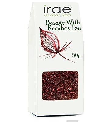 La trientale boréale bourrache Borago officinalis Infusion Rooibos sans caféine avec 50g de base