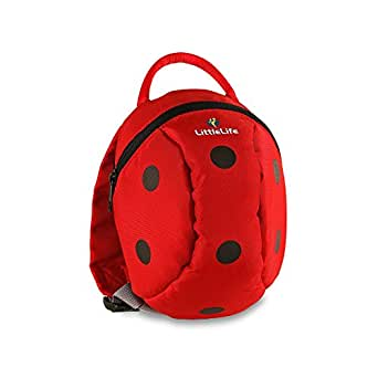 Littlelife Toddler Animal Daysack Parent Safety Rein/Strap in 10 Exciting Designs (Ladybird)