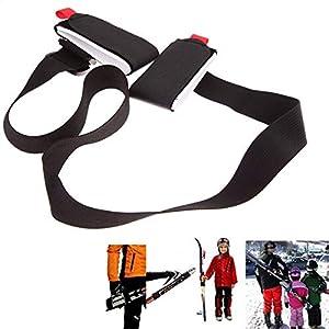 HATCHMATIC Einstellbare Ski Pole-Schulter-Handtragegriff Lash Porter Schleife Schutz Ski Skifahren Griff: Frankreich