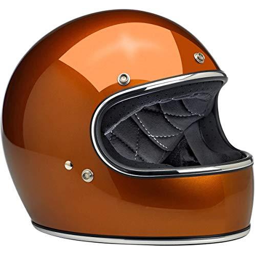 Biltwell Gringo - Casco de moto de cara completa de cobre brillante