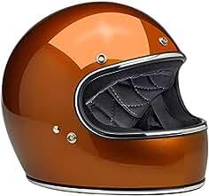 b2498a4952f30 Biltwell Gringo - Casco de moto de cara completa de cobre brillante