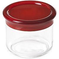 Omada Design spargi sale//pepe in plastica trasparente e colorato compatto e pratico anche da portare il tavola con tappo di chiusura a pressione Linea Movida dal design innovativo