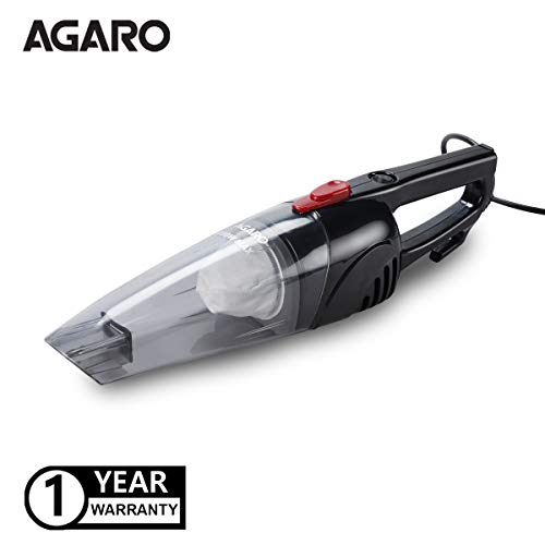AGARO Regal Hand Held Vacuum Cleaner 800w, ABS Body, Powerful Suction, 5 Mtr Long Cord