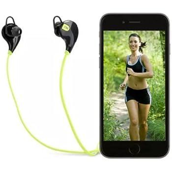 Soundpeats Qy7 Mini Lightweight Wireless Sports Headset (Black/Green)