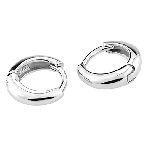 demarkt-stainless-steel-hoops-womens-mens-huggie-earrings-set